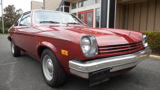 1976 Chevy Vega - 2-door Hatchback - 48920 Original Miles ...
