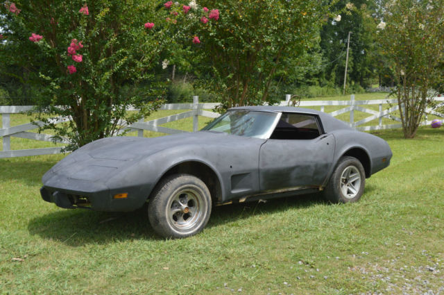 1976 corvette 454 c i with 400 turbo this is a true. Black Bedroom Furniture Sets. Home Design Ideas