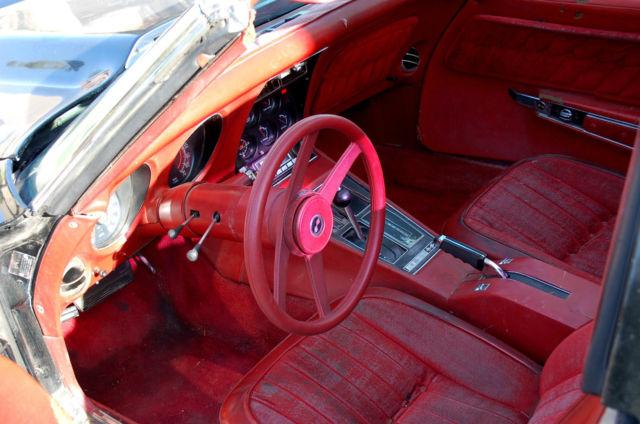 1976 Custom Corvette Stingray C3 Restoration Project