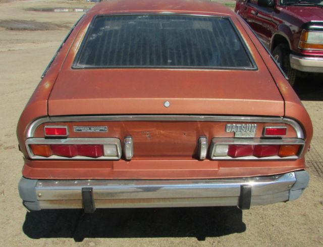 1976 Datsun B210 2 Door Coupe Virgin Original Body Motor