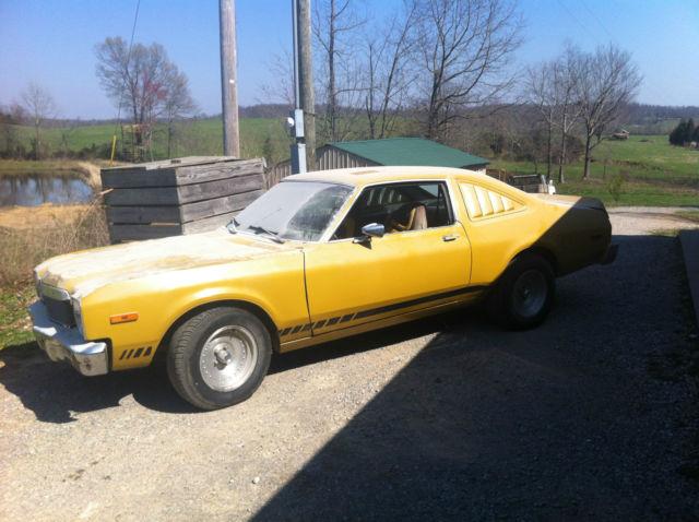 1976 Dodge Aspen 318 2 Door Coupe F Body Original Not Rt
