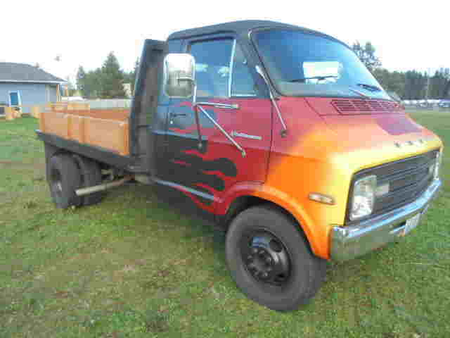 1976 Dodge, Pickup, Stakebed, Flatbed, Van, Dually, 360, V8