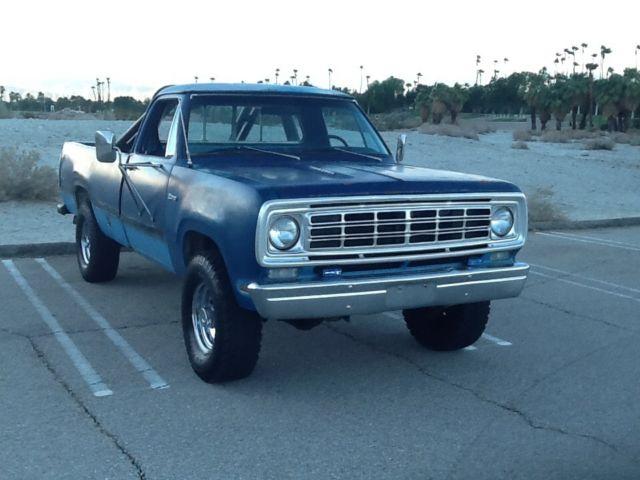 1976 Dodge Power Wagon Adventurer original 440 4x4 W200 3/4 Ton - Classic Dodge Power Wagon 1976 ...