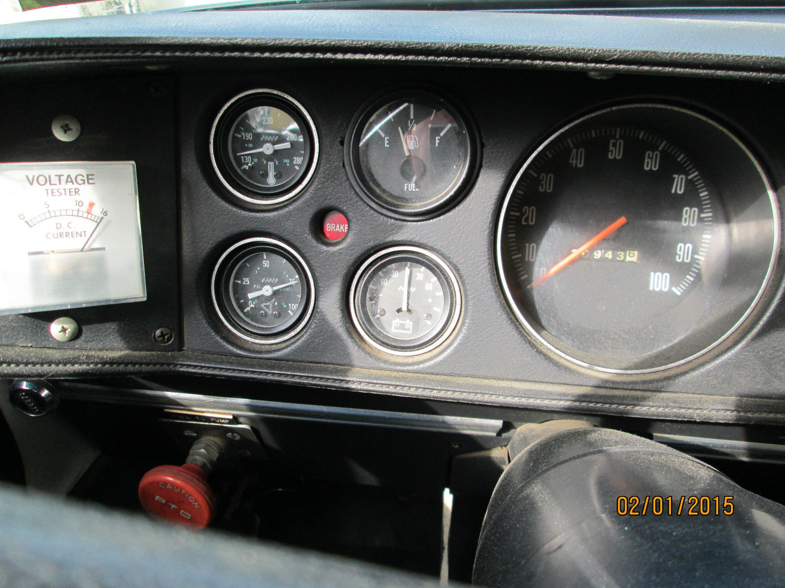 1976 Dodge Power Wagon W300 Mini Pumper Fire Truck 20943 Miles No 76 Wiring Schematic Prevnext