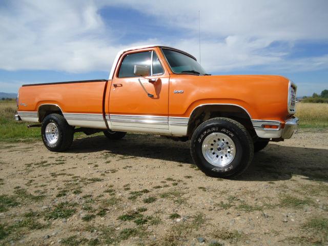 Dodge W Power Wagon X Adventurer Sport Original High Desert Survivor on 1977 Dodge Power Wagon Images