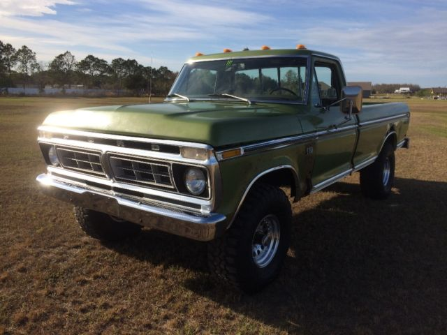1976 f150 4x4 classic ford f 150 1976 for sale. Black Bedroom Furniture Sets. Home Design Ideas
