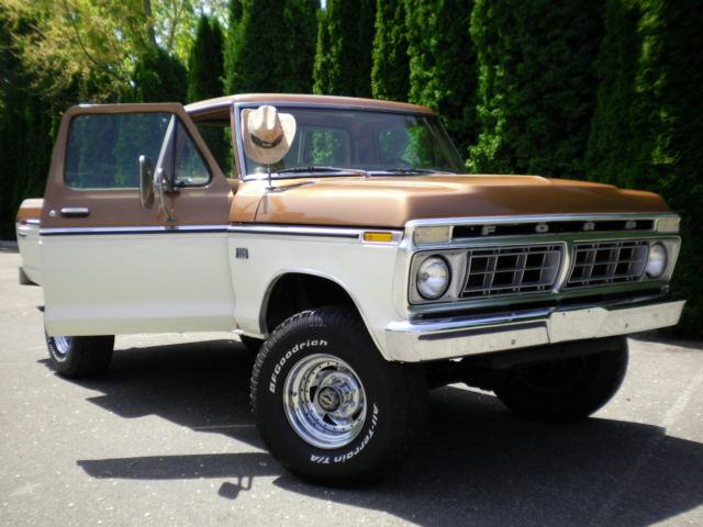 1976 f250 4x4 factory high boy 1 owner classic ford f 250 1976 for sale. Black Bedroom Furniture Sets. Home Design Ideas