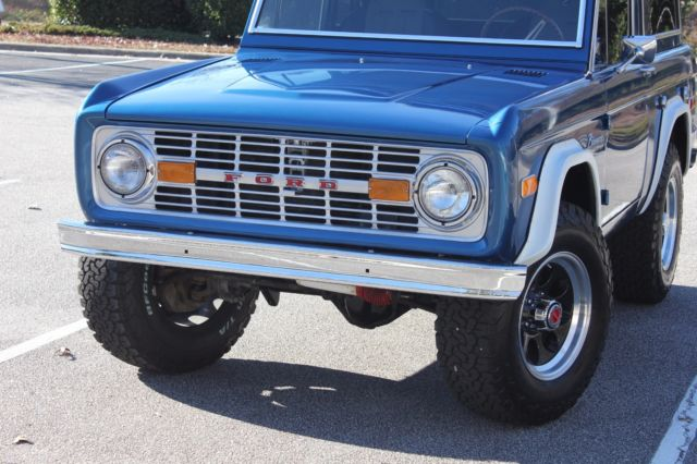 1976 ford bronco with new motor classic ford bronco 1976 for Bronco motors used cars