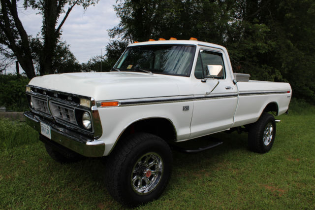 1976 ford f 250 4x4 390 4 speed restored georgia truck no reserve classic ford f 250 1976 for. Black Bedroom Furniture Sets. Home Design Ideas