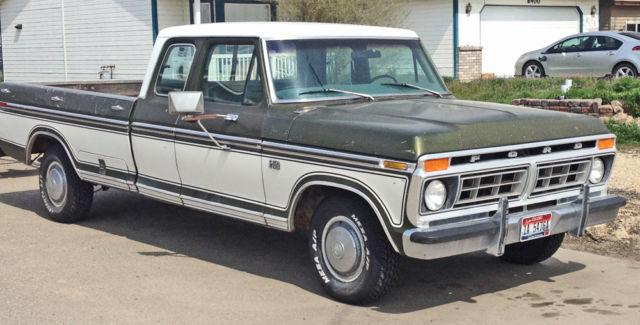 1976 ford f 250 custom styleside supercab classic ford f 250 1976 for sale. Black Bedroom Furniture Sets. Home Design Ideas