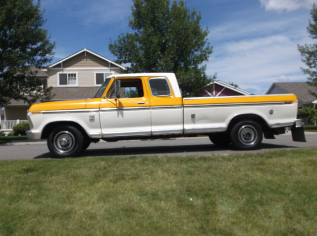 1976 Ford F-250 Ranger XLT EXTENDED CAB F-150 F-350 1975 1977 1978 1979 3/4 TON - Classic Ford F ...