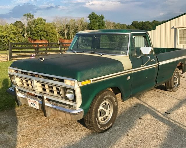 1976 ford f100 explorer pickup truck classic ford f 100 1976 for sale. Black Bedroom Furniture Sets. Home Design Ideas