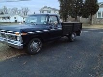 1976 Ford F150 Flatbed 360 Engine Automatic Transmission Classic