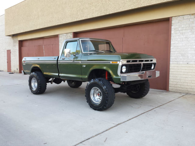 1976 Ford F250 4x4 Highboy Beast  Rebuilt 460 V8 4