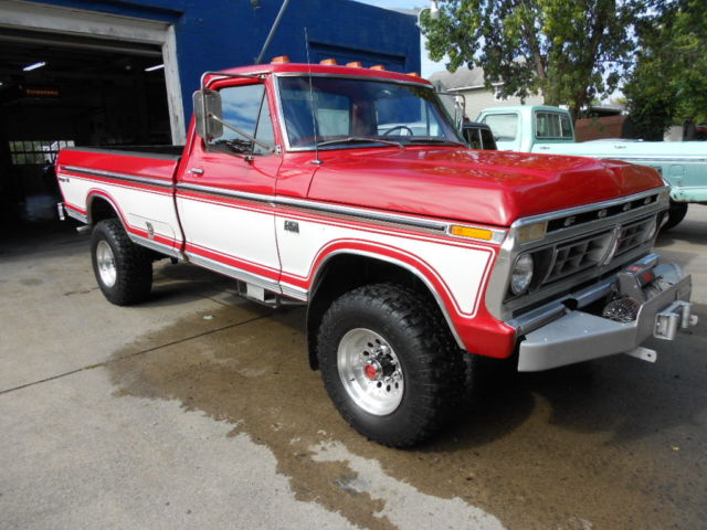 1979 Ford F250 4x4 For Sale >> 1976 Ford F250 4x4 Ranger XLT Original - Classic Ford F-250 1976 for sale