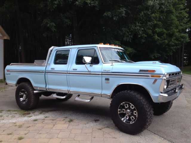 1976 ford f350 f250 shortbed crewcab pickup classic ford f 350 1976 for sale. Black Bedroom Furniture Sets. Home Design Ideas
