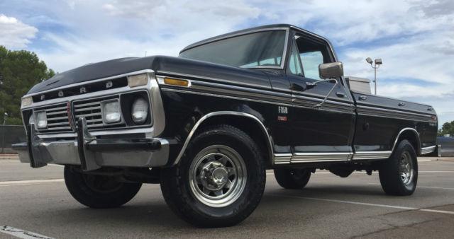 1976 Ford Ranger F250 Xlt Camper Special Arizona Truck A