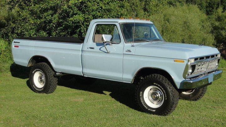 1976 Ford Truck F-250 4x4 Highboy 390 FE F-100 1977 1978 ...