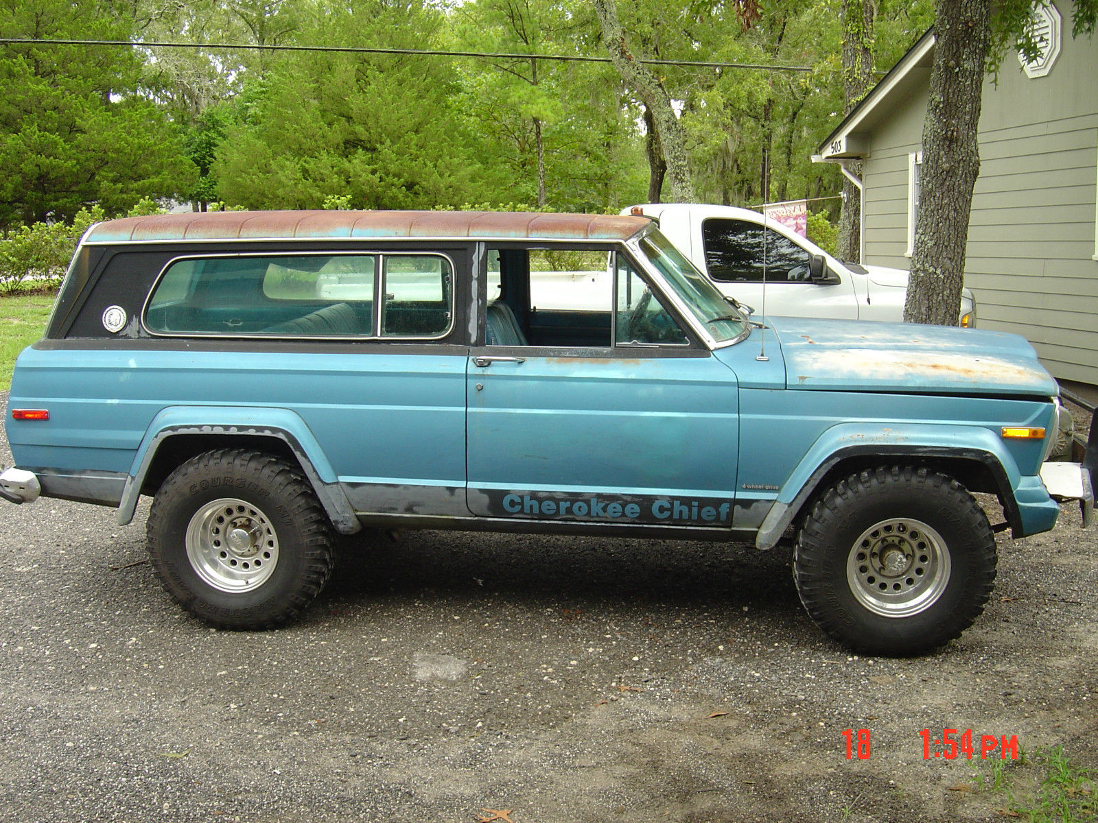 1976 jeep cherokee s sport utility 2 door 6 6l classic jeep cherokee 1976 for sale. Black Bedroom Furniture Sets. Home Design Ideas