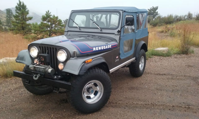 """Used Cars Fort Collins >> 1976 Jeep CJ7 Renegade """"Levi's"""" Edition - Classic Jeep CJ 1976 for sale"""