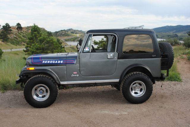 "Used Cars Fort Collins >> 1976 Jeep CJ7 Renegade ""Levi's"" Edition - Classic Jeep CJ 1976 for sale"