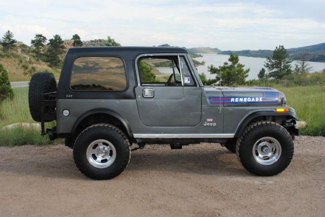 "Jeep Renegade For Sale >> 1976 Jeep CJ7 Renegade ""Levi's"" Edition - Classic Jeep CJ 1976 for sale"