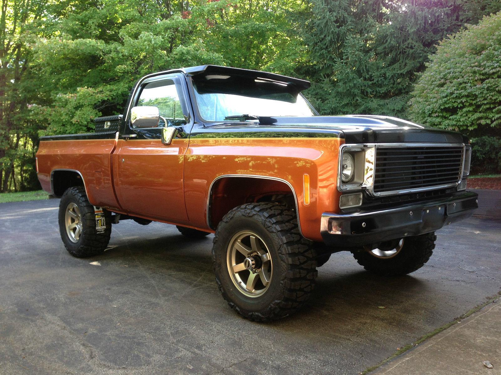 1976 Chevy 4x4 3 4 Ton