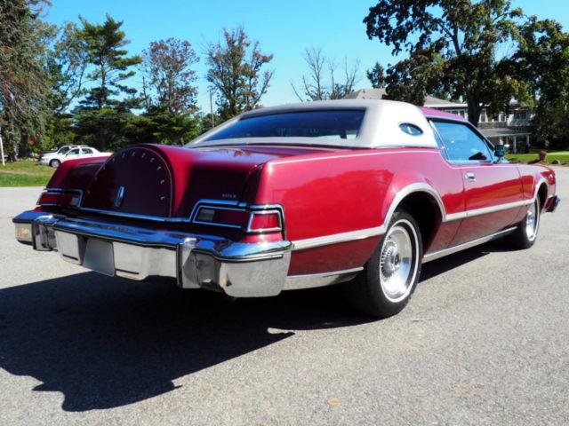 1976 Lincoln Continental Mark Iv Emilio Pucci Designer