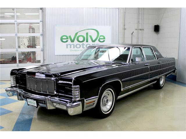 1976 Lincoln Continental Town Car Classic Lincoln Continental 1976