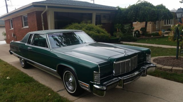 1976 Lincoln Continental Town Coupe 49k Runs And Drives Excellent