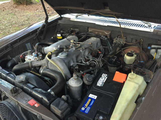 1976 mercedes benz 300d w115 diesel om617 engine 98k miles for Mercedes benz 300d engine for sale