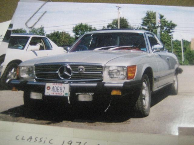 1976 mercedes benz 450 slc original nos parts for Mercedes benz classic car parts