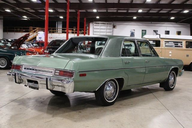 1976 Plymouth Valiant 34429 Miles Green Sedan 6 Cylinder