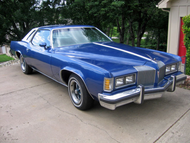 1976 Pontiac Grand Prix with 36K original miles - 350 V8 - 2 Door Hardtop - Classic Pontiac ...