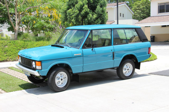 Used Range Rovers For Sale >> 1976 RANGE ROVER CLASSIC 2 DOOR - Classic Land Rover Range Rover 1976 for sale