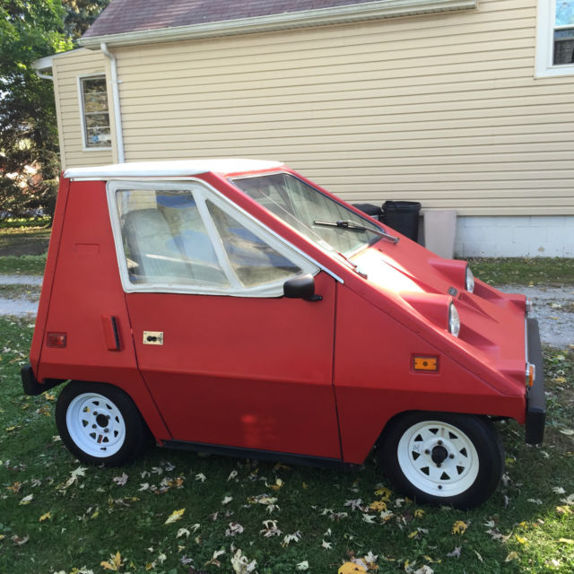 1976 Sebring Vanguard CitiCar Electric Car