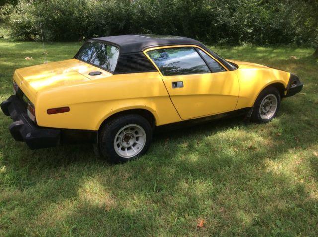 1976 Triumph Tr7 Victory Edition