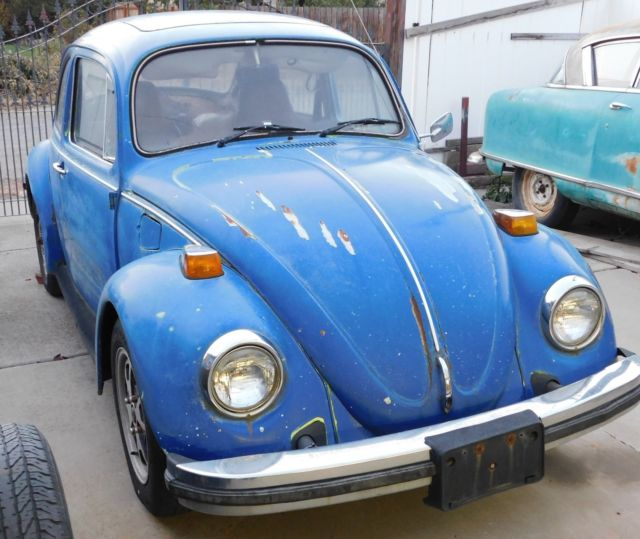 Cheap Used Volkswagen Beetle Convertible For Sale: 1976 Vw Beetle, Good Start To A Winter Project. Project VW