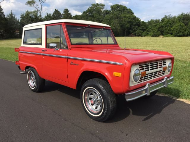 1977 77 ford bronco 302 auto automatic power disc brakes steering uncut 66 1966 classic ford. Black Bedroom Furniture Sets. Home Design Ideas