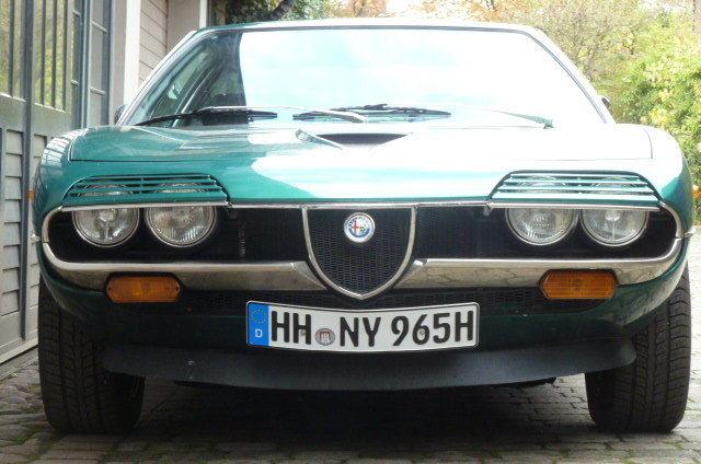 1977 Alfa Romeo Montreal Targa