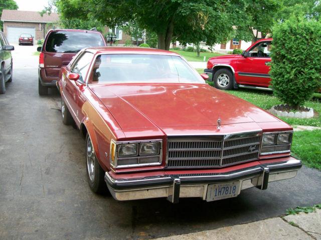 1977 buick regal 31,000 original miles,burgandy mint body ...