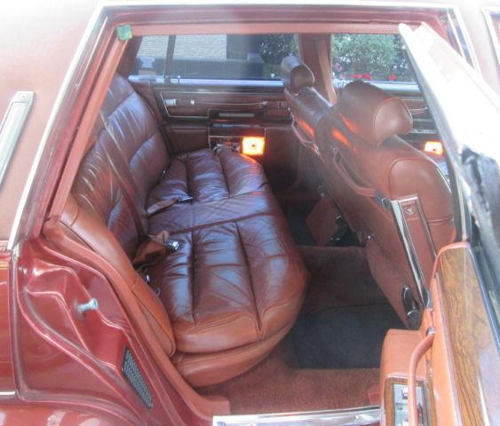 1977 Cadillac Fleetwood Brougham 4-dr Sedan Leather Trim