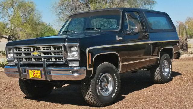 1977 Chevrolet Blazer K5 Cheyenne - Classic Chevrolet ...