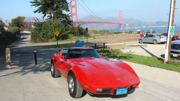 1977 Chevrolet Corvette Alot Factory Options California Car Classic Chevrolet Corvette 1977 For Sale