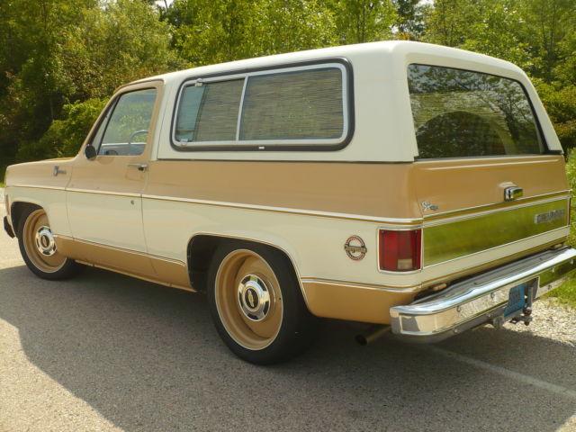 1977 Chevrolet K 5 Blazer 2wd Az Truck Survivor Original