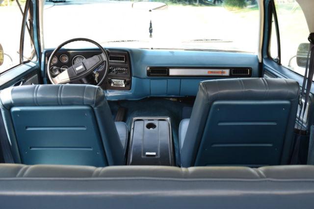 1977 Chevrolet K5 Blazer 2WD Frame Off Restoration ...