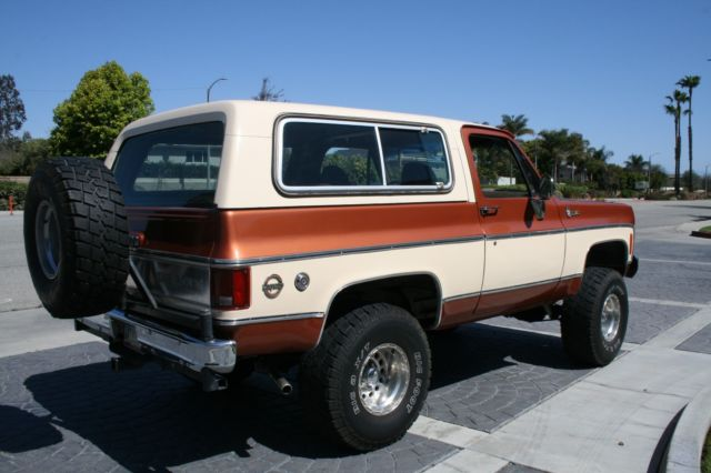 Air Lift Bags >> 1977 Chevrolet K5 Blazer Cheyenne Edition 350 Auto 4x4 Lift PS/PB Nice Machine!! - Classic ...
