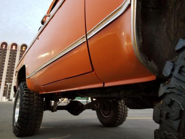 1977 chevy chayanne k5 blazer 4x4 4sp 454ci with only 62k