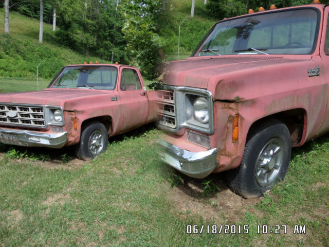 1977 chevy full size 350 automatic classic chevrolet other pickups 1977 for sale. Black Bedroom Furniture Sets. Home Design Ideas