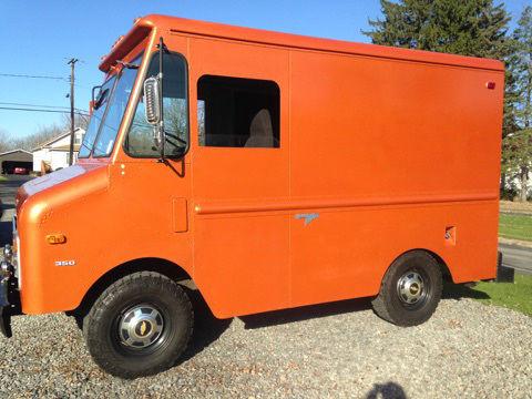 Chevy Grumman Vintage Step Van Stepvan Food Truck Junior Bread Motor